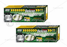 2x Deluxe Towing Mirror Extension Mirrors Car Travel Extenders Van Part MP8328