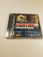 Fighting Force 2 (Sony PlayStation 1, 1999) PS1 Complete Game Manual TESTED