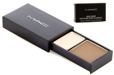 NIB MAC Brow Shader Discontinued Pressed Powder Duo in Coquette Brown Porcelain