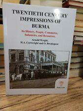 Twentieth Century Impressions of Burma by Arnold Wright. Cartwright & Breakspear