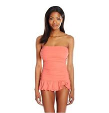 Coco rave Bandeau skirted swim dress size S 32D cup