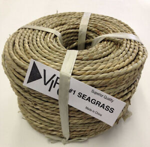 #1 Twisted Seagrass 3mm-3.5mm 0.5kg coil. V.I. Reed & Cane, Inc.. Best Price