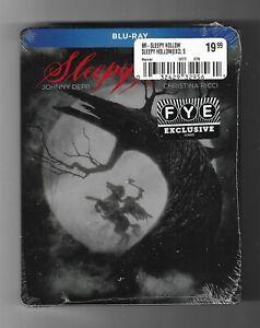 Sleepy Hollow NEW Blu-ray FYE exclusive steelbook Tim Burton Johnny Depp Ricci