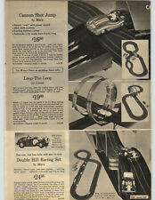 1965 PAPER AD Marx Lionel Slot Car Race Car Loop-The-Loop Jump Shot 1/32 Scale
