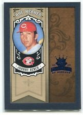 2005 Diamond Kings HOF Heroes Framed Blue 58 Johnny Bench 42/100