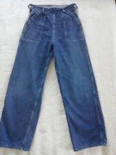 Vintage Original 1940s /50s Women's  Jeans Size 8/10