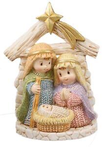 Christmas Nativity Children Mini Xmas Hanging Ornament Nativity Holy Family