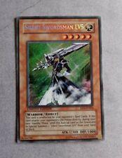 Yugioh Silent Swordsman LV5 EEN-ENSE4 limited Edition Nm Secret Rare