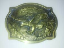 Heritage Mint Eagle Belt Buckle 1983 Registered Collection Solid Brass CJ-6684