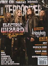 Terrorizer #204 Electric Wizard Napalm Death 040518DBE