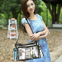 Clear Plastic Tote Bags For Women Transparent Waterproof Backpack Handbag Purse