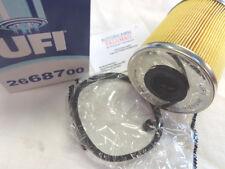 2668700 ufi Filtro carburante GASOLIO  RENAULT PEUGEOT CITROEN 7701044913 190653