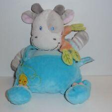 Doudou Vache Nicotoy- Bleu Gris