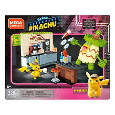 Mega Construx Pokemon Pikachu Hi Hat Cafe Building Set NEW IN STOCK