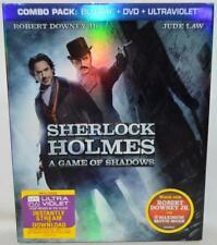 Sherlock Holmes Game of Shadows Blu-ray/DVD 2012 2-Disc Set Digital Copy 147