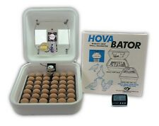 HovaBator Egg Incubator | IncuTurn Auto Turner | Fan Kit | Thermometer - Chicken