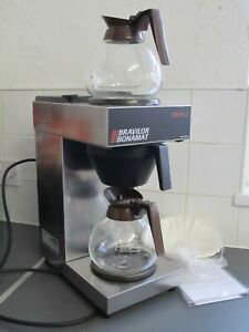 Bravilor Filter Coffee Machine Novo + 2 Jugs Fully Working Descaled