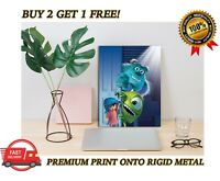 METAL Poster Monsters Inc Movie Art Print Plaque Gift