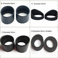 2PCS Eye Guards Microscope Rubber Eye Cups for Microscope Telescope eyepiece