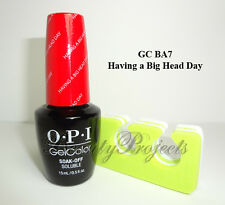 OPI GelColor Alice Through The Looking Glass Having a Big Head Day GC BA7 gel