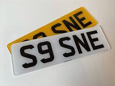 Short 5 digit pair road legal Number Plates 100% MOT Compliant free post