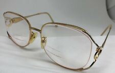 31918939e352 TURA Rx Eyeglasses Mod 621 Vintage Gold Big Eye GLR 58 18 130 Women s