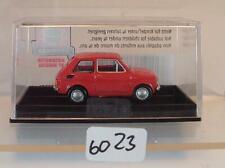 Brekina / Drummer 1/87 Nr. 223519 Fiat 126 Limousine rot OVP #6023