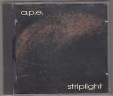 A.P.E. - striplight CD