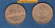 10 Francs Mathieu 1979 Tranche A SUP Liberté Egalité Fraternité sur la Tranche