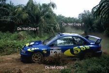 Colin McRae Subaru Impreza WRC 97 Indonesian Rally 1997 Photograph 1