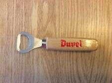 Duvel Belgian Beer Bottle Opener, Porte Clé, Wood Handle