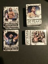 2018 WWE Topps Undisputed Complete Set 100 Cards Base, Royal Rumble, & Survivor