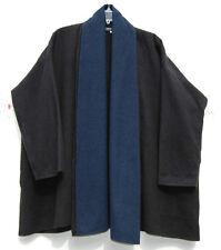 "NEW Eskandar EBONY/COSMO Felted Cashmere Double Layer Collar 32"" Coat (0) $2695"