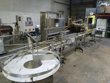 New Automatic Liquid Overflow Filler Inline Filler Pressure Fillerbottle