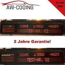 BMW 5er 7er X5 e38 e39 e53 Tacho Pixelfehler Reparatur