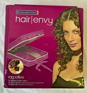 REMINGTON Hair Envy Heated Rag Rollers / Flexi Curlers - ()