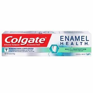 Colgate Enamel Health Multi Protect Toothpaste, Cool Mint Gel, 6 oz