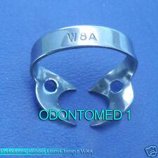 3 ENDODONTIC RUBBER DAM CLAMPS # W8A Dental Instruments