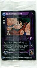 New & Sealed Dragonball GT Promo 4 Card DBZ Pack 2 Star Holo TCG T1 T2 T3 T4
