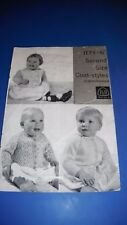 Patons Vintage Child's cardigans Knitting Pattern 1174