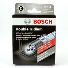 BOSCH 9604 DOUBLE IRIDIUM SPARK PLUGS - BOX OF 4