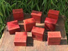 Indian Army Surplus Detonator Tin Container Ammunition Military India EMPTY