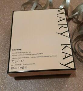 Mary Kay Microdermabrasion Plus Set Microset mit Pore Minimizer Serum NEU