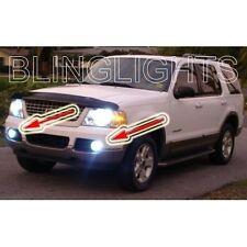2002 2003 2004 2005 Ford Explorer Halo Fog Lamps Angel Eye Driving Lights Kit