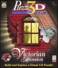 Puzz 3D Victorian Mansion PC MAC CD build rooms to house jigsaw puzzle home game