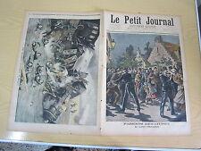 Le petit journal 1897 n° 341 Le martyr d'Hellemes / russie accident dorpat