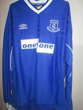Everton 1999-2001 Home LS Football Shirt Size XXL /5779