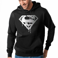 Superman's Death Hero Held Fun Comic Dark Kapuzenpullover Hoodie Sweatshirt
