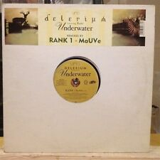 "[EDM]~NM 12""~DELERIUM Featuring RANI~RANK 1~MaUVe~Underwater~[x2 Mixes]~"
