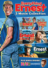 Everything Ernest Ernest Goes to Camp, Ernest Goes to Jail, Ernest Scared Stupid